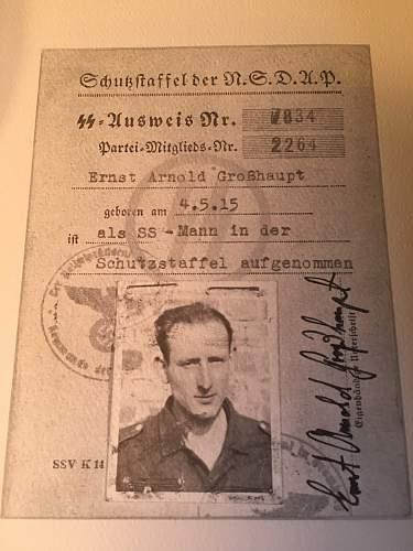 SS ID Book