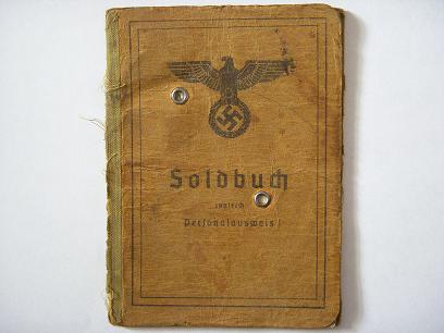 Wehrmacht Soldbuch