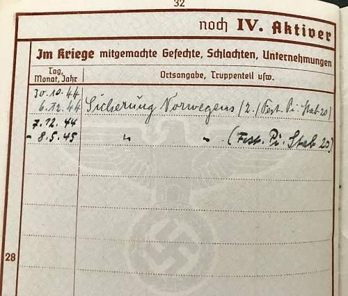 2nd Award 28/05/1942??  Fritz Reinecke