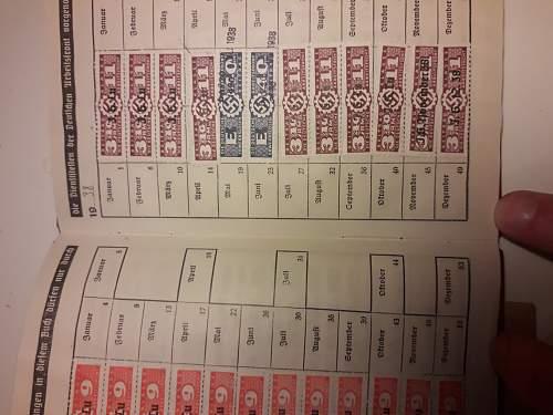 DAF Mitgliedsbuch with weird slipcase, need help!