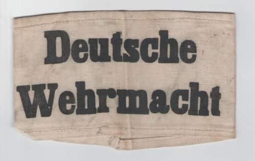 German Passbook Italy 1944