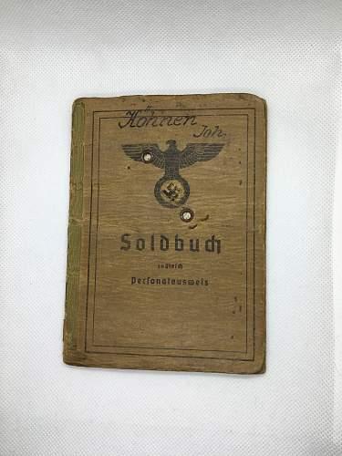 My First Soldbuch