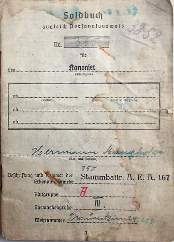Soldbuch - Help with translation