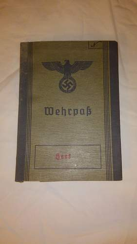 Need help with Todt Wehrpass