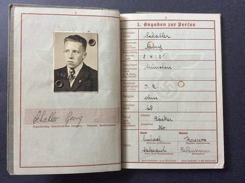 Unteroffizier Georg Schaller (1./J.G.103)
