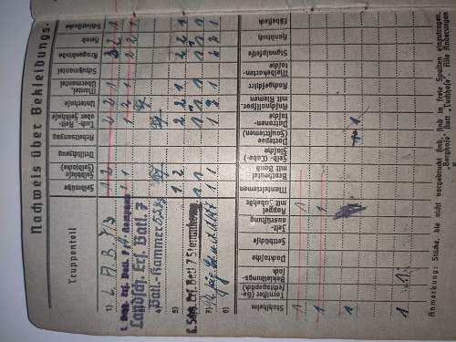 Soldbuch Pz.jg.abt(sf)228 Trouble Deciphering awards page??