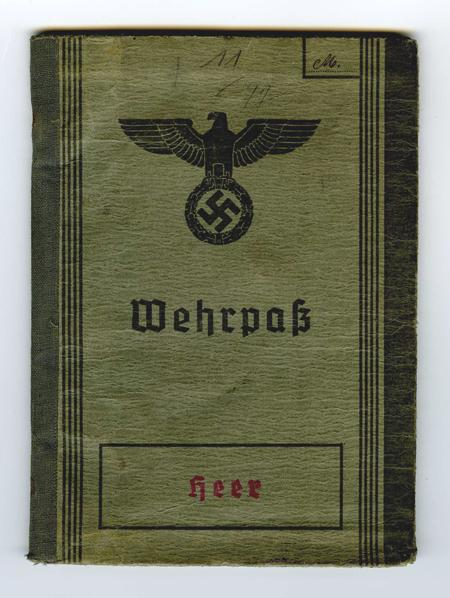 wehrpass from 1937