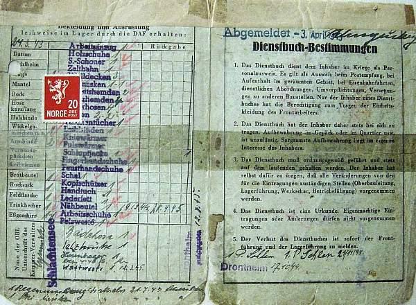 OT Dienstbuch