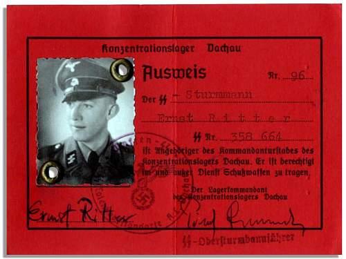 Replica SS Ausweis