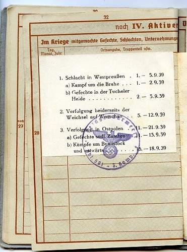 Doc set - one of the first of the Feldgendarmen