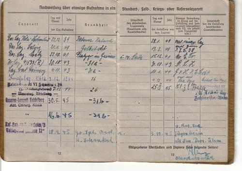Units in Soldbuch