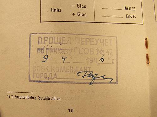 Soldbuch russian capture stamp? need help b4 I buy
