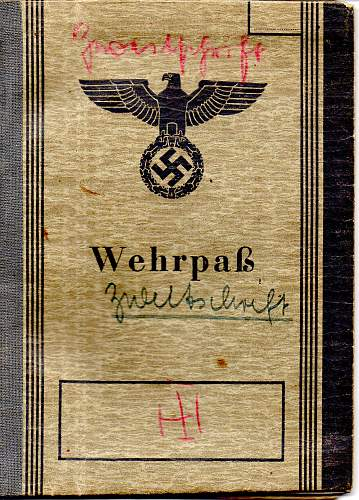 Help needed with translation of wehrpass to karl junker