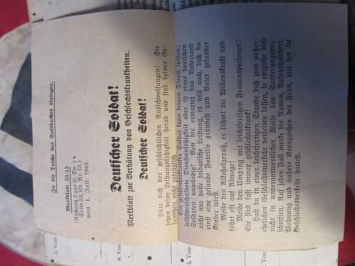Soldbuch to an SS-Kanonier