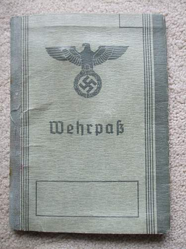 Stalingrad Wehrpass