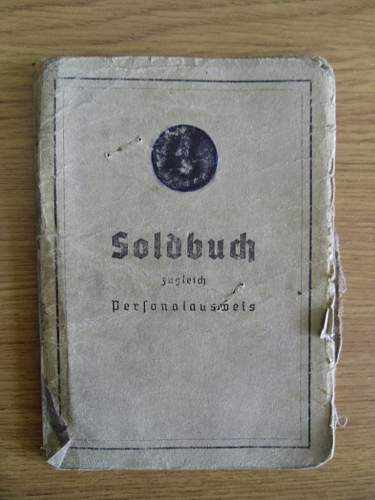 Soldbuch Normandy / Ardennes 12th SS Panzer Division Hitlerjugend