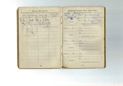 7th SS Prinz Eugen Division Soldbuch