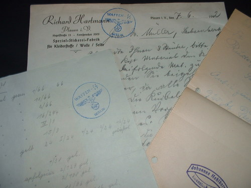 Gestapo Stamps - Real or Fake?