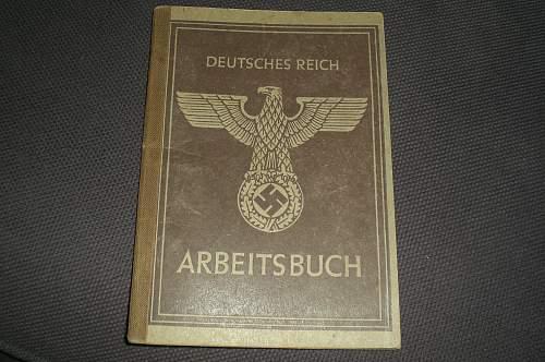 Arbeitsbuch 3rd Type RARE