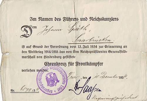 Politzei WW1/WW2 group