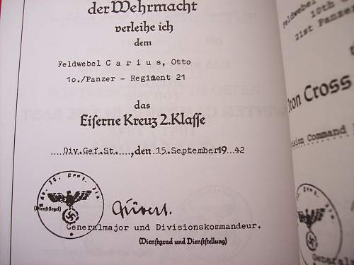 Kvk doc that came with wehrpaz
