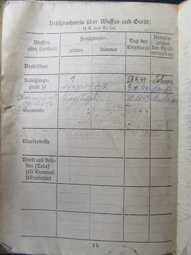 Soldbuch, shoulderboard, and paperwork to Gefreiter Johann Neumeier & Others