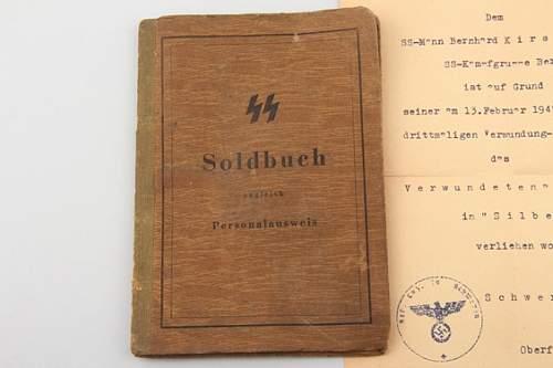 SS Soldbuch