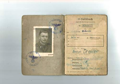 Soldbuch SS Wiking ?