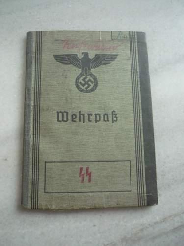 SS Wehrpass