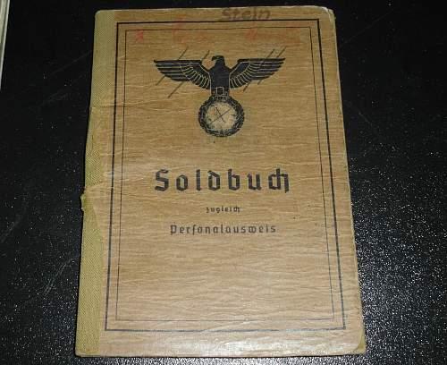 Translation of Soldbuch