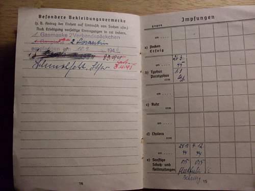 Luftwaffe Soldbuch