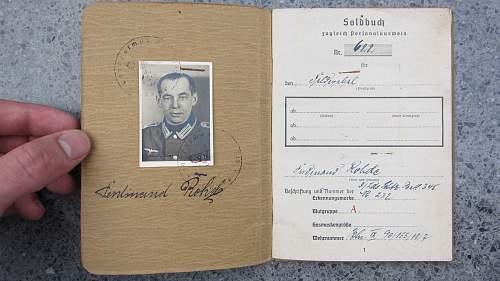 Soldbuch documents question