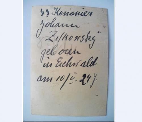 KIA SS-Soldbuch