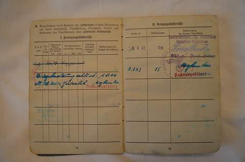 Luftwaffe Soldbuch Help with Name
