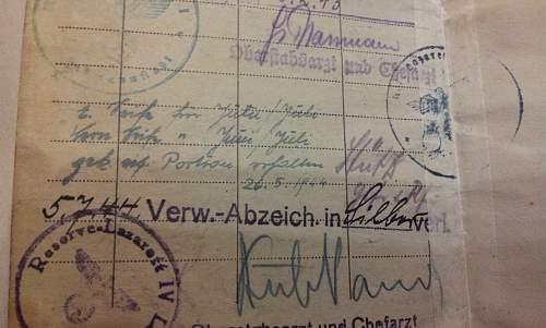 """""""Feldherrnhalle"""" Soldbuch?"""