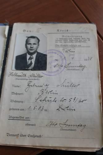Reichsbund document Please help ID