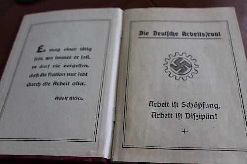 MItgliedsbuch document- Please help to ID