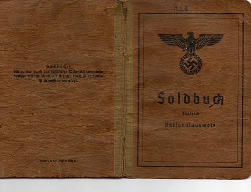 My first complete Soldbuch