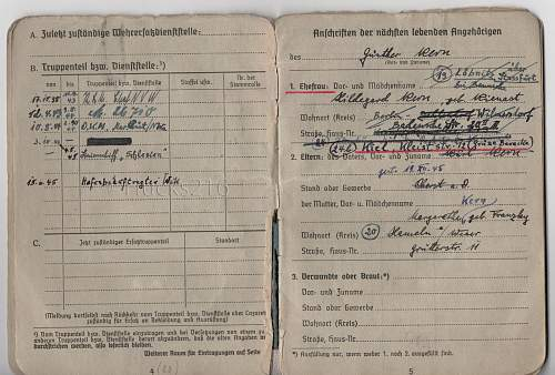 Luftwaffe Soldbuch - with a difference.