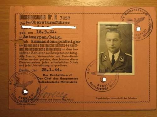 SS Ausweis I never seen before