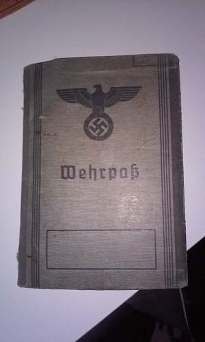 wehrpass value?