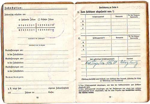 Drivers Soldbuch group
