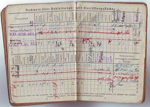 Lappland soldbuch