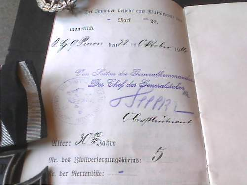 what ink did they use for the Soldbuch