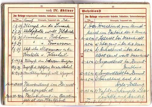 Stalingrad drivers wehrpass