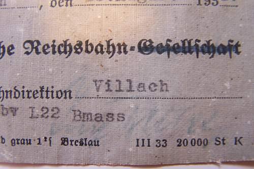 Bahnpolizei-Ausweis