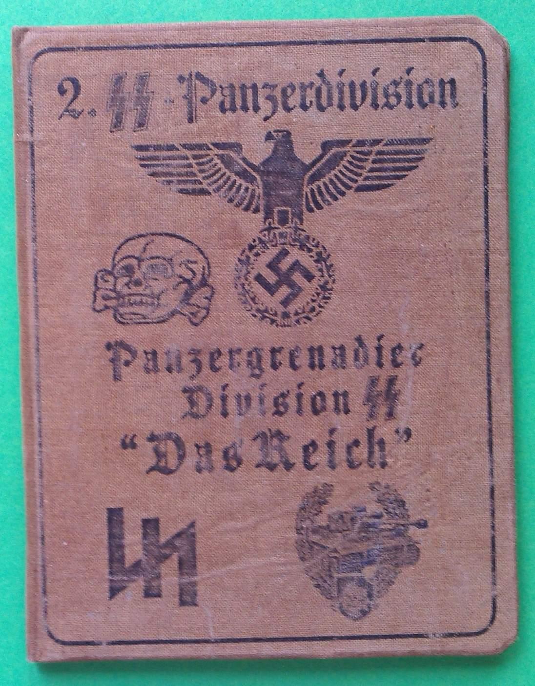 2nd SS Panzer Division Das Reich