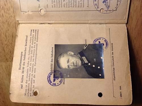 Police/SS Soldbuch