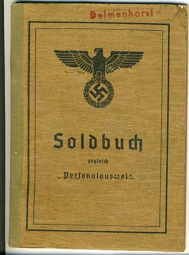 help with this Soldbuch