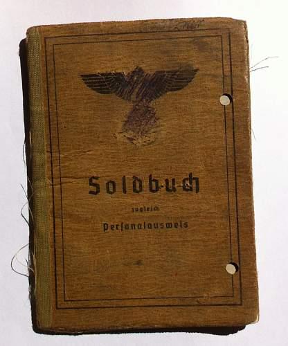 Denazified Pioneer Soldbuch